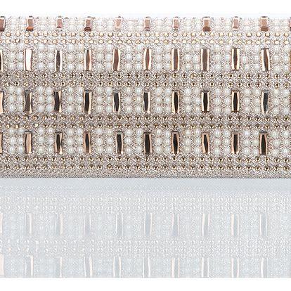 Fashion Icon Psaníčko společenské Diamond Shine s perlami a krystaly
