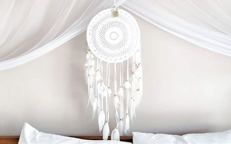 Ručně vyráběný lapač snů z Bali