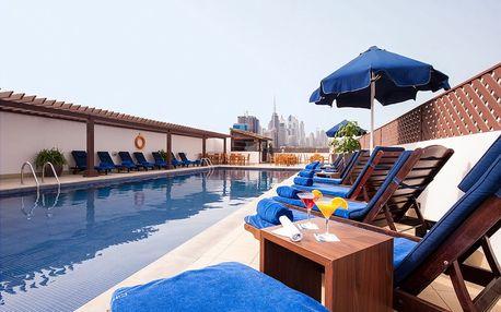 Spojené arabské emiráty - Dubai na 4 až 5 dní, polopenze nebo snídaně s dopravou letecky z Prahy 5 km od pláže
