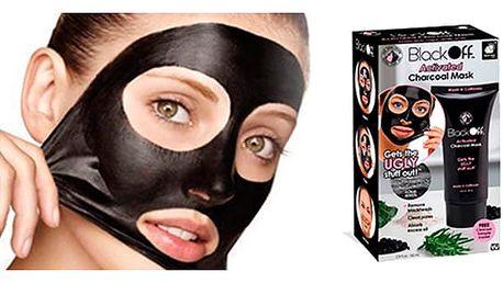 AKCE! Black off slupovací maska - dej sbohem rozšířeným pórům!