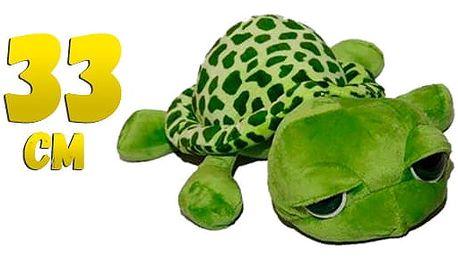 AKCE! Plyšová želva s velkýma očima