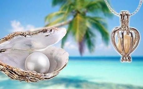 AKCE! Perla přání s náhrdelníkem z perlorodky