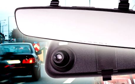TIP! Zpětné zrcátko do auta s kamerou