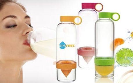 TIP! Chytrá láhev na výrobu citronády - obohaťte svůj den o vitamíny!