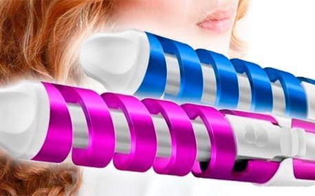 TIP! Loknovací kulma na vlasy pro dokonalé kadeře Barva: Fialová