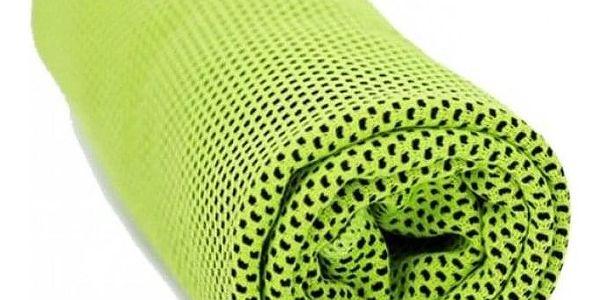 TIP! Chladící ručník - SET 3 ks (Doprava zdarma) Barva: Zelený