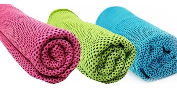 TIP! Chladící ručník - SET 3 ks (Doprava zdarma) Barva: Zelený5