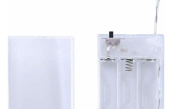 DecoKing Světelný řetěz Žárovky teplá bílá, 10 LED2