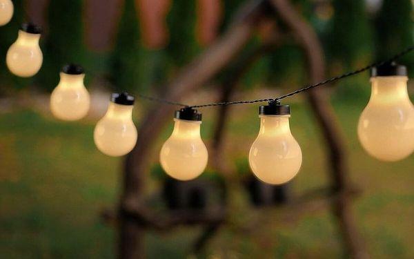DecoKing Světelný řetěz Žárovky teplá bílá, 10 LED3