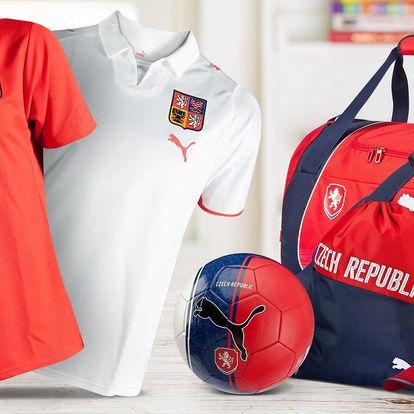 Fotbalové doplňky z kolekce Puma Czech Republic