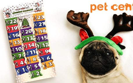 Adventní kalendáře HUHU pro psí a kočičí kamarády