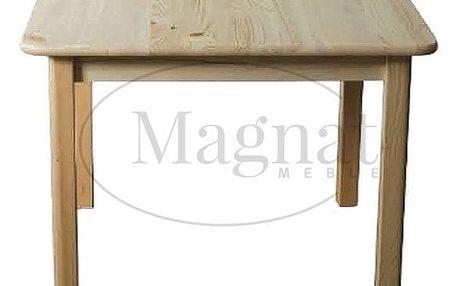 Dřevěný stůl nr. 1 - 110 x 60 cm