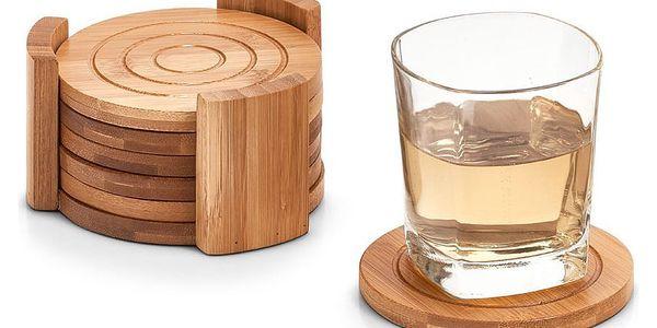 Podložka pod sklenice, podložka, 100% bambus - 7 ks, ZELLER3