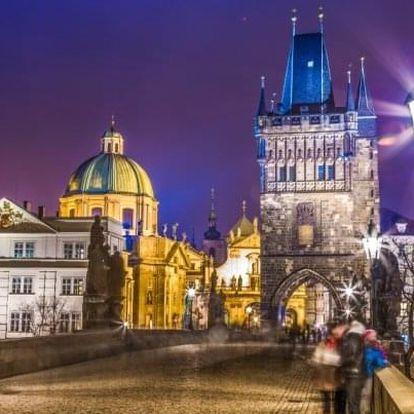 Praha v oceněném Hotelu Aida **** se snídaní 15 minut od centra