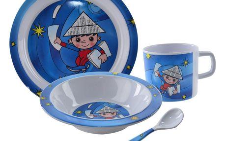 Orion 4dílná dětská jídelní sada Večerníček, melamin