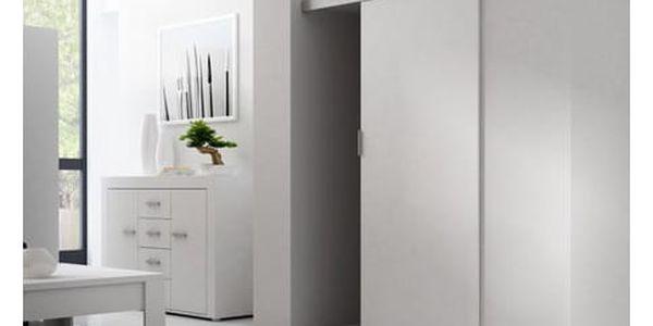 Posuvné dveře GREG 86 cm bílé2