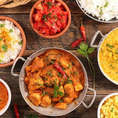Otevřené vouchery do autentické indické restaurace