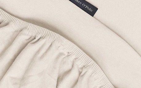 Hladké prostěradlo jersey, luxusní prostěradlo z hladkého úpletu, prostěradlo s gumičkou, exkluzivní prostěradlo, 90 x 200 cm, 100 x 220 cm, Marc O'Polo - 140/160 x 200/220