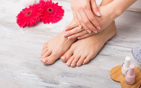 Pečlivá mokrá pedikúra i s možností masáže