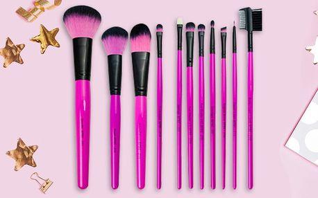Kosmetické štětce - řada Pink essentials