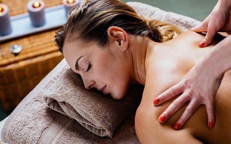 60 minut relaxace: masáže dle vlastního výběru
