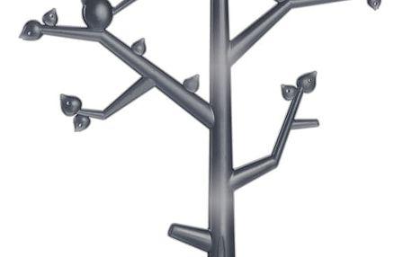 Stromeček na šperky Pi:p,velikost L - barva černá, KOZIOL