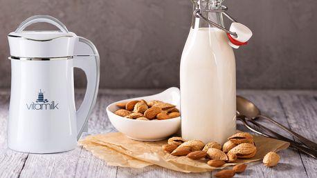 Vitamilk – výrobník rostlinného mléka, smoothie či polévek, poštovné v ceně