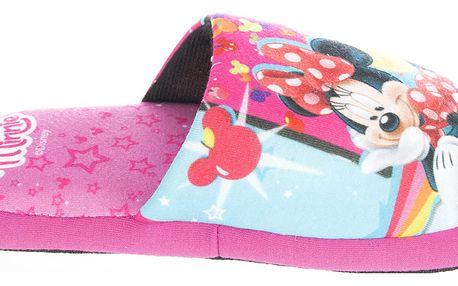 Disney Pantofle - bačkůrky Minnie a Mickey Mouse
