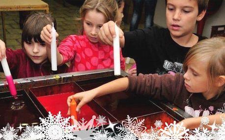 Vánoční tvoření ve svíčkárně Rodas vč. občerstvení