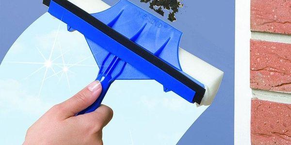 Stěrka na mytí oken MAXI + dlouhá skládaná rukojeť, dosah až 3 m, WENKO5