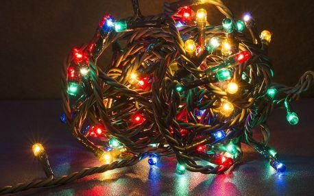Vánoční LED osvětlení: řetězy, hvězdy i vločky