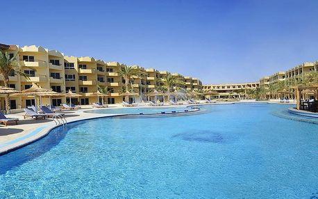Egypt - Hurghada na 8 až 12 dní, all inclusive s dopravou katovice nebo letecky z Prahy přímo na pláži