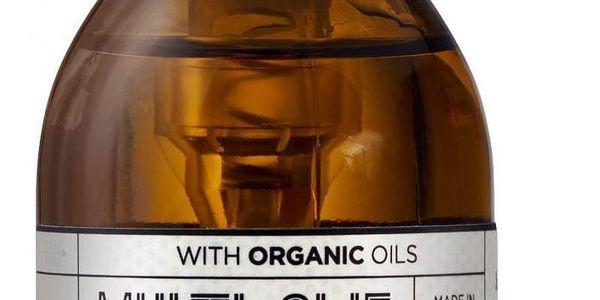 ECOOKING Univerzální tělový olej 100ml, hnědá barva, sklo, plast