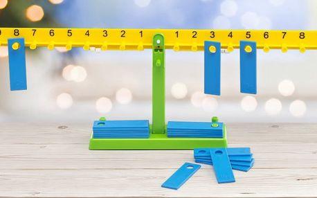 Učení hrou: mechanická matematická váha pro děti