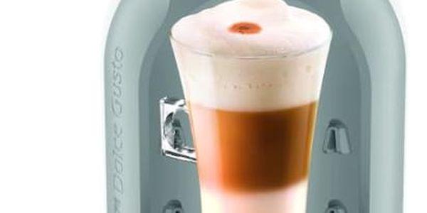 Espresso Krups NESCAFÉ Dolce Gusto Mini Me KP1201CS šedé/bílé4