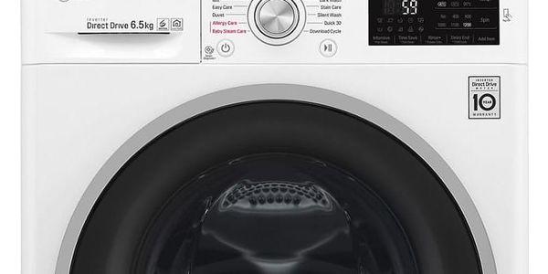 Automatická pračka LG F62J6WY1W bílá2
