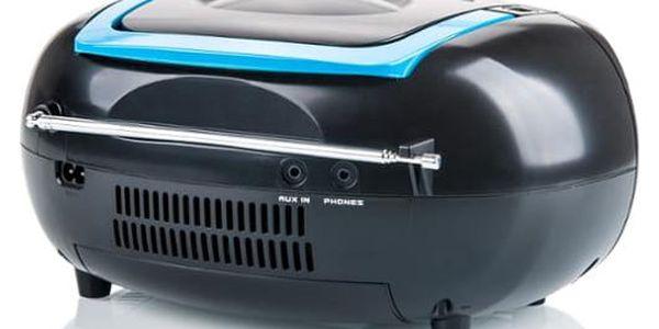 Radiomagnetofon s CD Hyundai TRC 788 AUBBL černý/modrý4