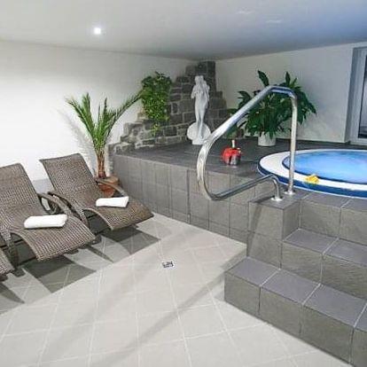 Slapská přehrada: relax v Hotelu Hrazany s polopenzí, wellness a procedurami