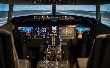 Letecký simulátor Boeing 737 Brno
