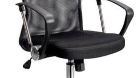 Kancelářská židle ADK Basic se síťovaným opěrákem