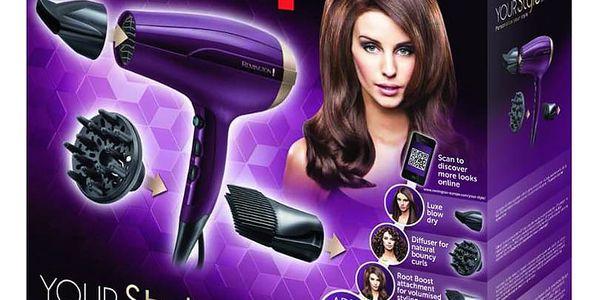 Fén Remington D5219 fialový2