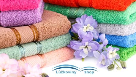 Příjemný bavlněný froté ručník o rozměru 50 × 100 cm