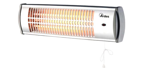 Zářič/ohřívač Ardes 437A stříbrný3