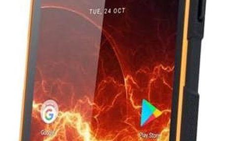 myPhone HAMMER ENERGY 3G Dual SIM černý/oranžový (TELMYAHENER3GOR)