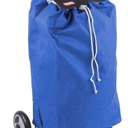 ALDO nákupní taška na kolečkách do schodů MADRID modrá