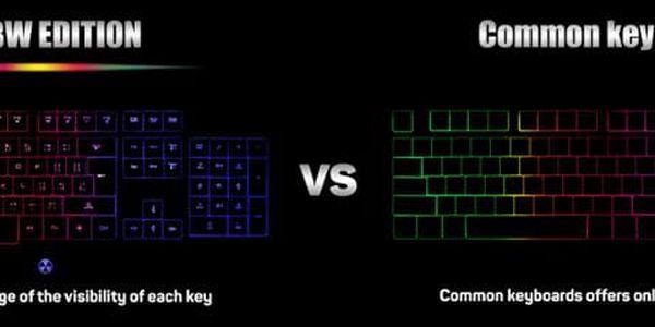 Klávesnice Connect IT Battle Rainbow, CZ černá (CI-1129)4