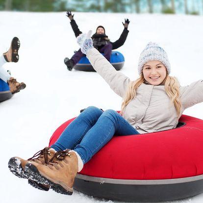 Snowtubing Rokytnice: zábavné jízdy na sněhu