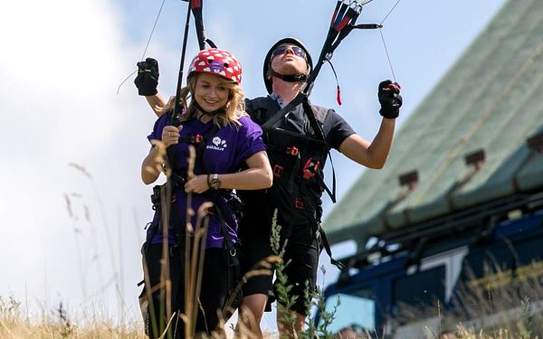 Tandemový paragliding - termický let, Beskydy, 1 osoba, 15 minut3