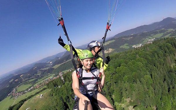 Tandemový paragliding - termický let, Beskydy, 1 osoba, 15 minut4
