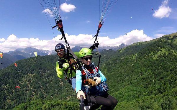 Tandemový paragliding - termický let, Beskydy, 1 osoba, 15 minut5